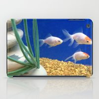 swimming iPad Cases featuring Swimming by Jenna Allensworth