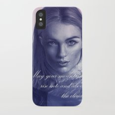 A song to the mountains iPhone X Slim Case