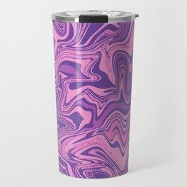Purple & Rose Agate Travel Mug