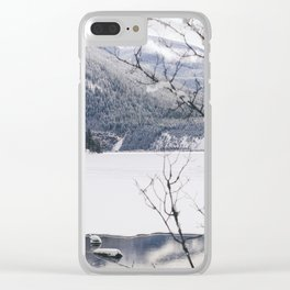 Three Valley Gap Clear iPhone Case