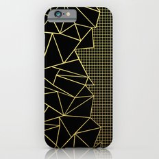 Ab Outline Grid Black and Gold Slim Case iPhone 6s