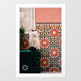Marrakech, Morocco Art Print