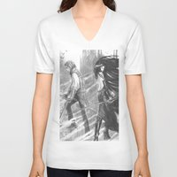 castlevania V-neck T-shirts featuring castlevania by Oxxygene