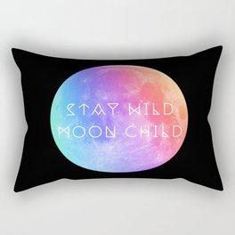 Stay Wild Moon Child v2 Rectangular Pillow