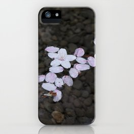 FLOATING FLOWERS iPhone Case