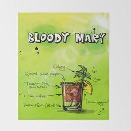 BloodyMary_002_by_JAMFoto Throw Blanket