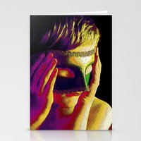 anonymous Stationery Cards featuring Anonymous  by Dream Realm Photography and Art