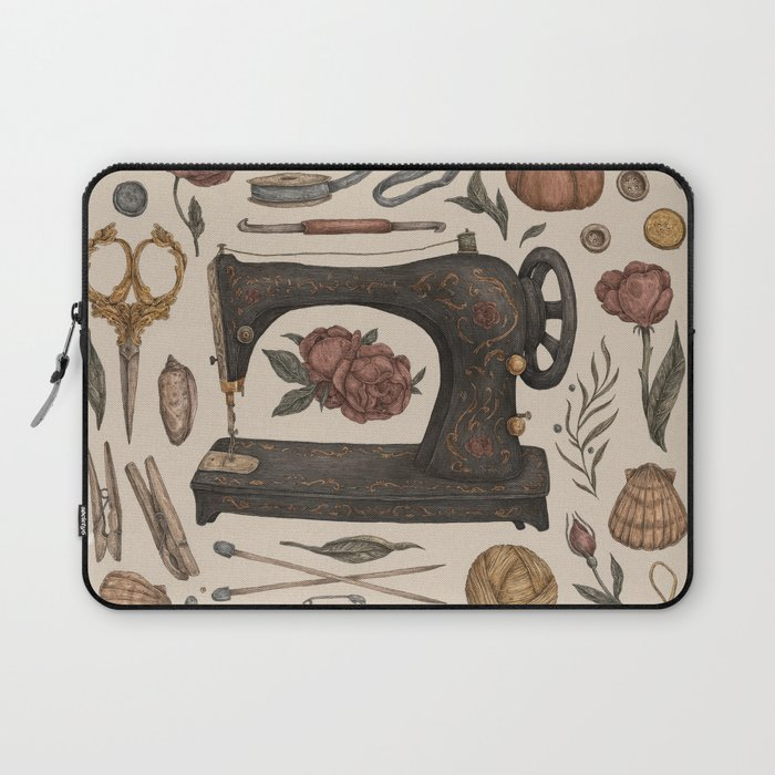 Sewing Collection Laptop Sleeve