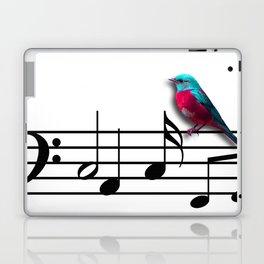 Bird on Music Sheet Laptop & iPad Skin