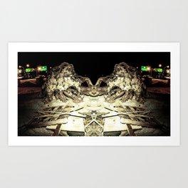 Under Cuntstruction Art Print