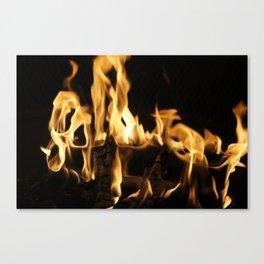 Summer Fire Canvas Print