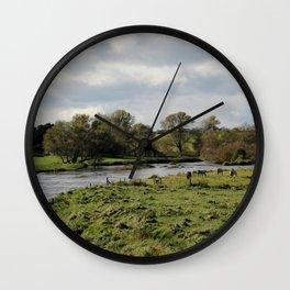 Ireland Horses II Wall Clock