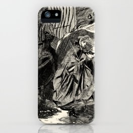 A Beastly Scourge? iPhone Case
