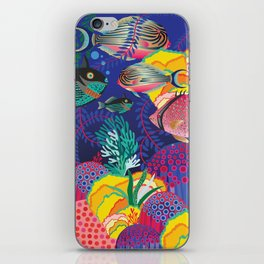 Exotic Sea Life iPhone Skin