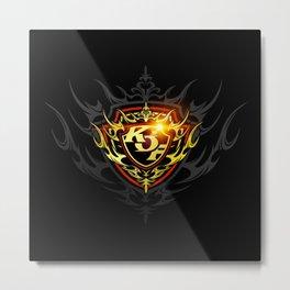 KOF XIV Emblem Metal Print