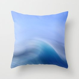 Surreal Waves 3 Throw Pillow