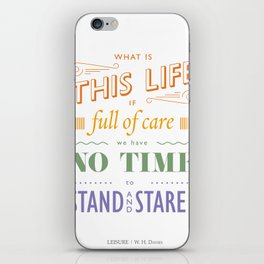What is this life? iPhone Skin