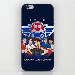 Liga virtual cubana iPhone Skin