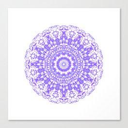 Mandala 12 / 2 eden spirit purple lilac white Canvas Print