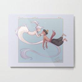 Siren Chloe Metal Print