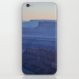 Layers of Blue iPhone Skin