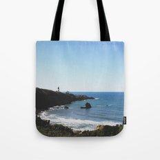 Yaquina Head Lighthouse Couple Tote Bag