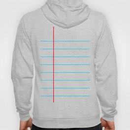 Notebook Paper Hoody