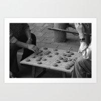 Chinese Chess Art Print