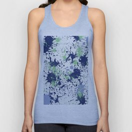 Action Painting No 65 By Chad Paschke Unisex Tank Top