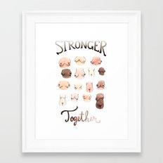 Stronger Together Framed Art Print