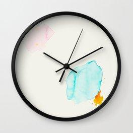 Minimum 4 - Minimal artwork by Jen Sievers Wall Clock
