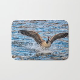 Landing In The River Bath Mat