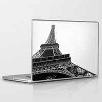 eiffel Laptop & iPad Skins featuring Eiffel by Angel Durán