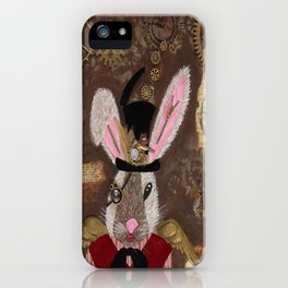 The Honorable S. Punk Bunny iPhone Case