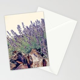 Lavender And Stone Stationery Cards