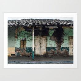 Macará House Art Print