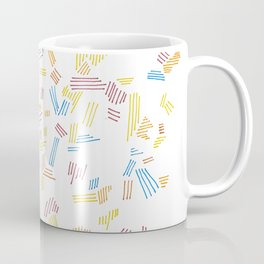 Colored Lines Coffee Mug