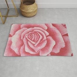 Coral Rose Rug