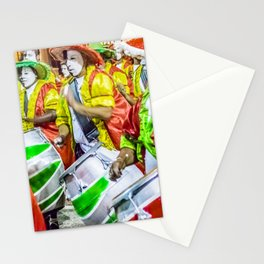 Candombe Drummers at Carnival Parade, Montevideo - Uruguay Stationery Cards