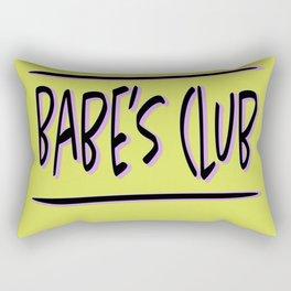Babe's Club Rectangular Pillow