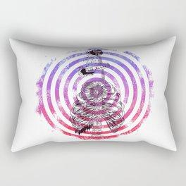 Skeleton Bullseye Rectangular Pillow