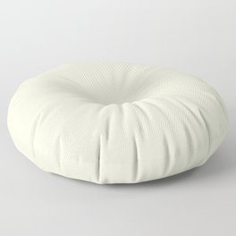 QUEEN ANNE'S LACE off white neutral solid color Floor Pillow