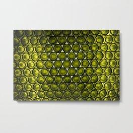 bottle tops pattern Metal Print