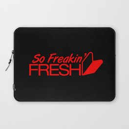 So Freakin' Fresh v6 HQvector Laptop Sleeve