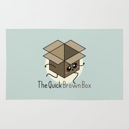 The Quick Brown Box Rug