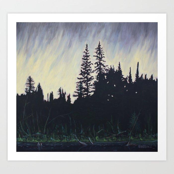 After the Storm – Evening, Algonquin Park Art Print