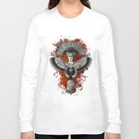 phoenix Long Sleeve T-shirts featuring Phoenix by Diogo Verissimo