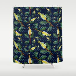 Grevillea - Australian Native Florals Shower Curtain