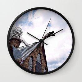 Dragon at the Gate Wall Clock