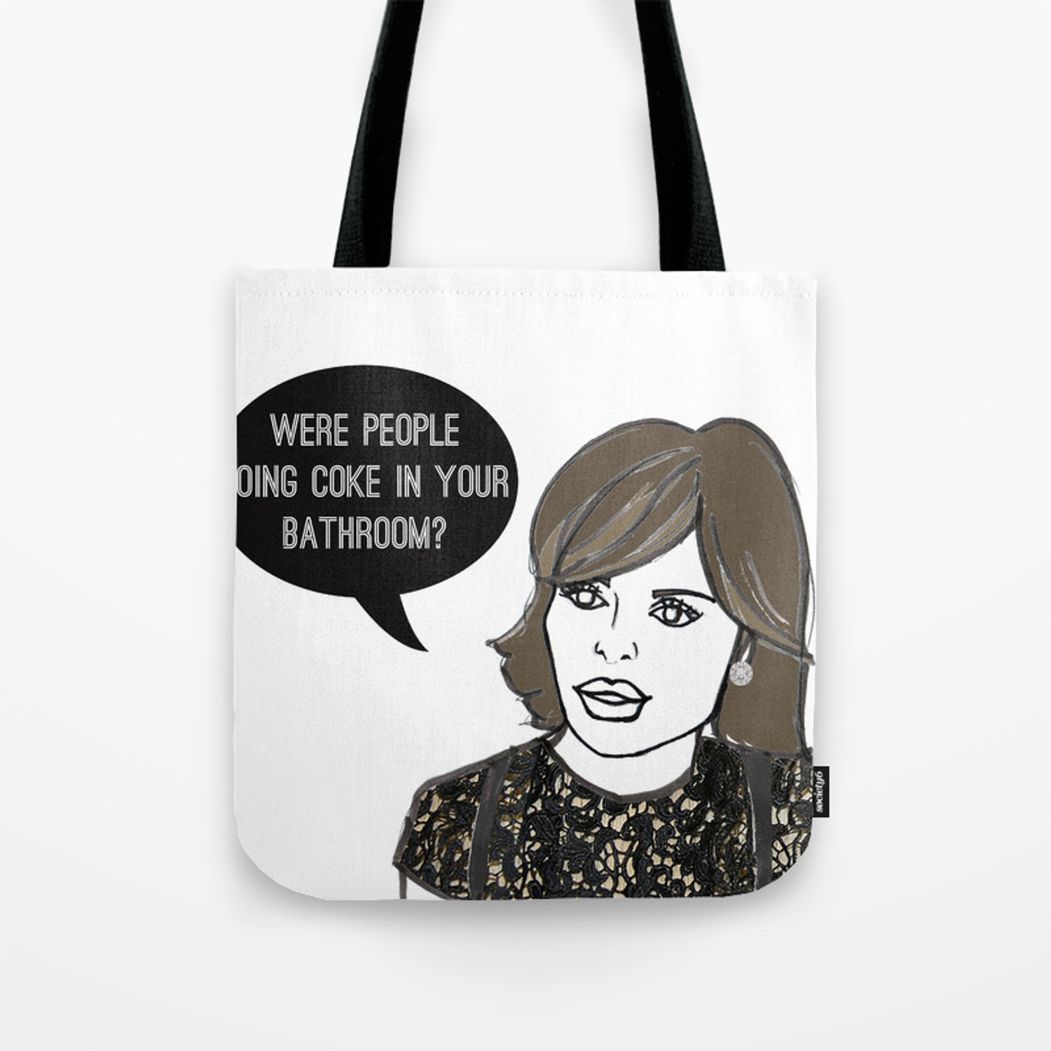 Your Bathroom Tote Bag By